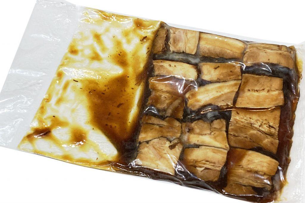 冷凍で長期保存が可能な豚角煮です